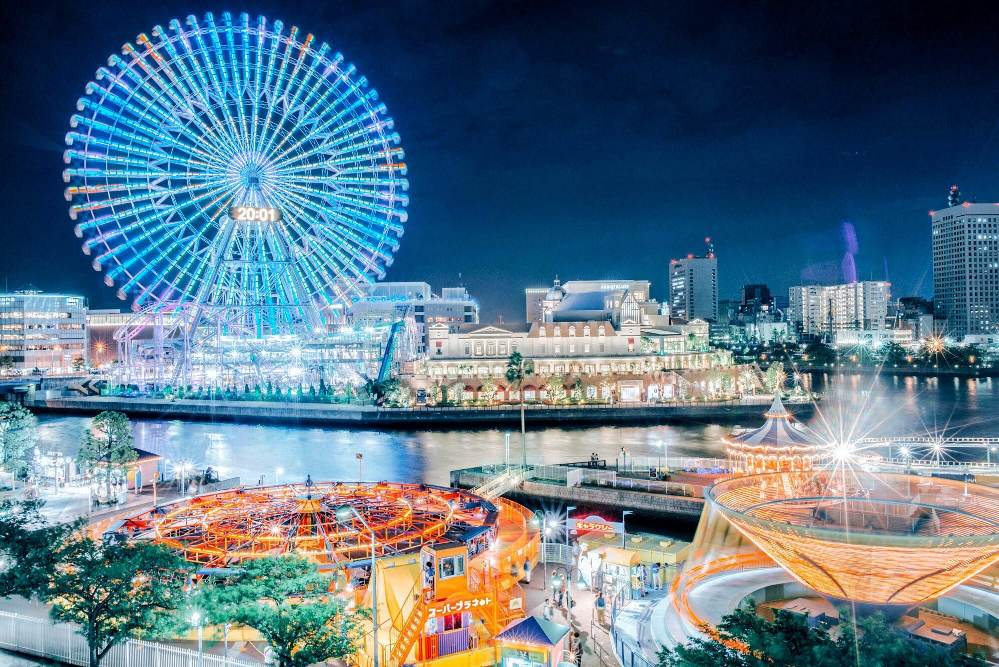息をのむ美しさ。横浜みなとみらい周辺のおすすめ夜景スポット7選!