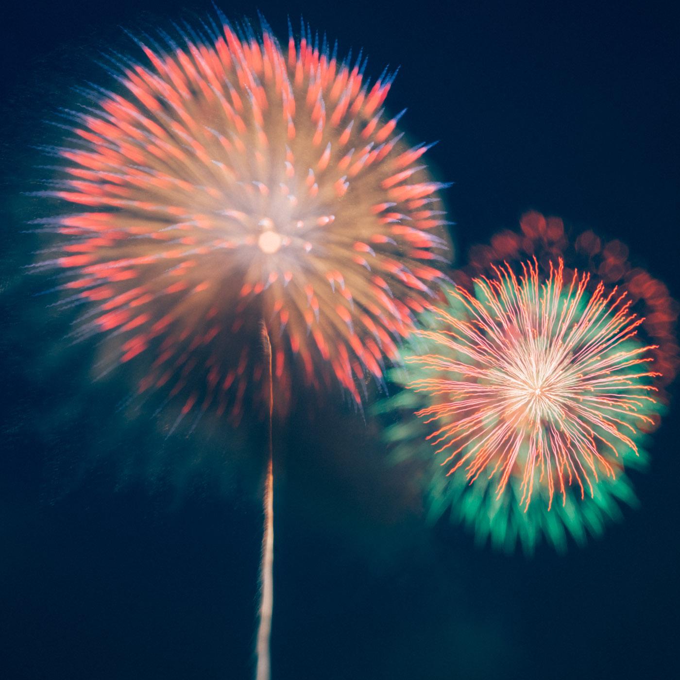【初心者必見】夏なので、花火大会で美しい写真を撮るための方法を紹介します。