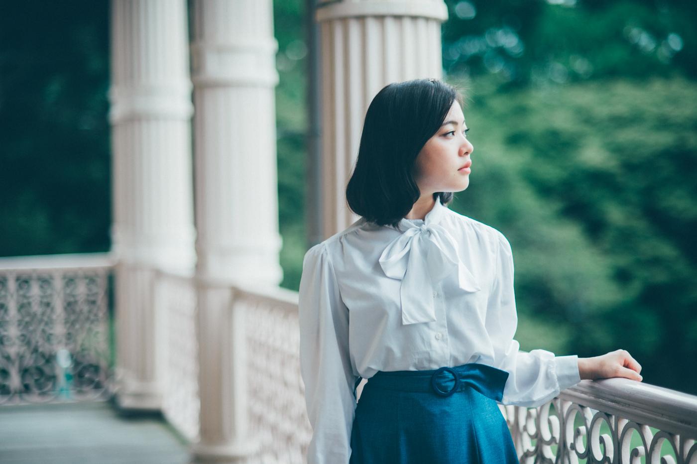 【100人ポートレート】vol.6 ふじみちさん 〜旧岩崎邸にて〜