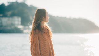 007.【100人ポートレート】writer/songwriterの結花さん 〜海と夕日とポートレート〜