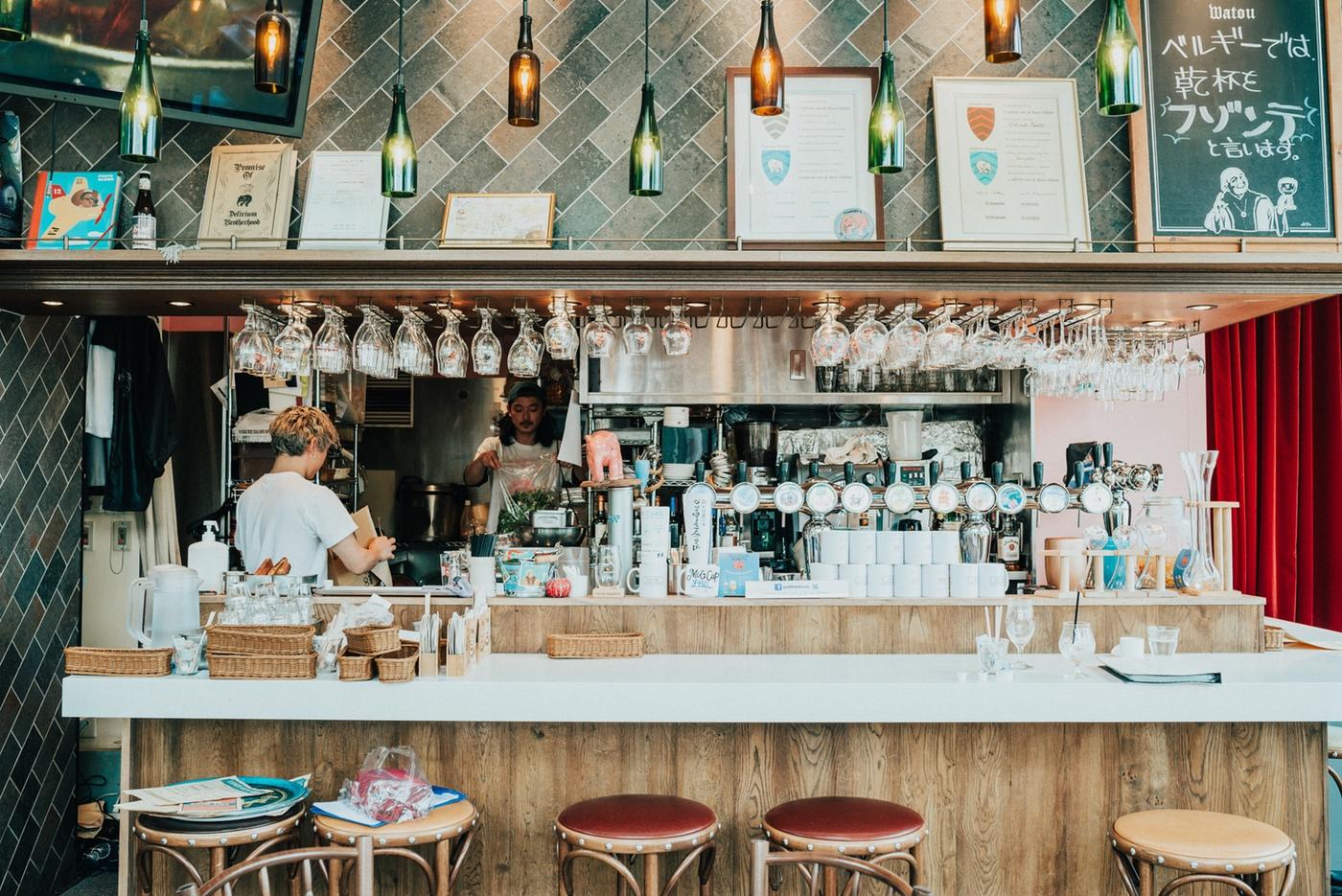 代々木でランチからベルギービールを楽しめるお店「プティデリリウム タップ カフェ 」