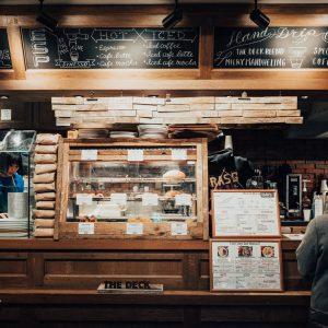北参道のTHE DECK COFFEE & PIEでオシャレにパイとコーヒーをいただく